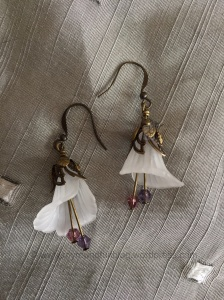 Earrings from a kit