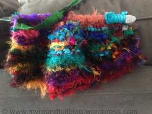 Knit a bag WIP